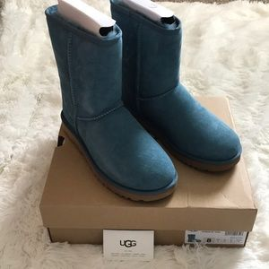 Teal Short Classic Uggs